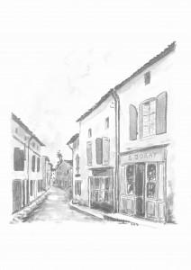 Rue Duguesclin Chizé