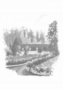 chateau de la Thibaudière Chizé