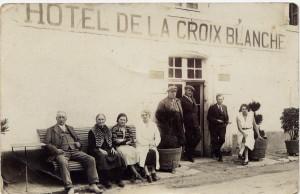 hôtel la Croix Blanche