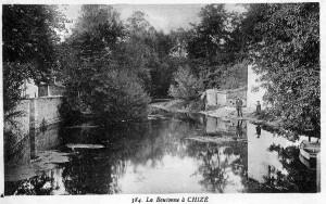 la Boutonne vue du 1er pont