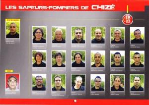pompiers Chizé 2016